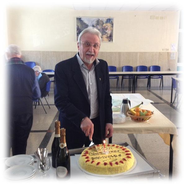 Compleanno di Don Ivaldo Borgognoni