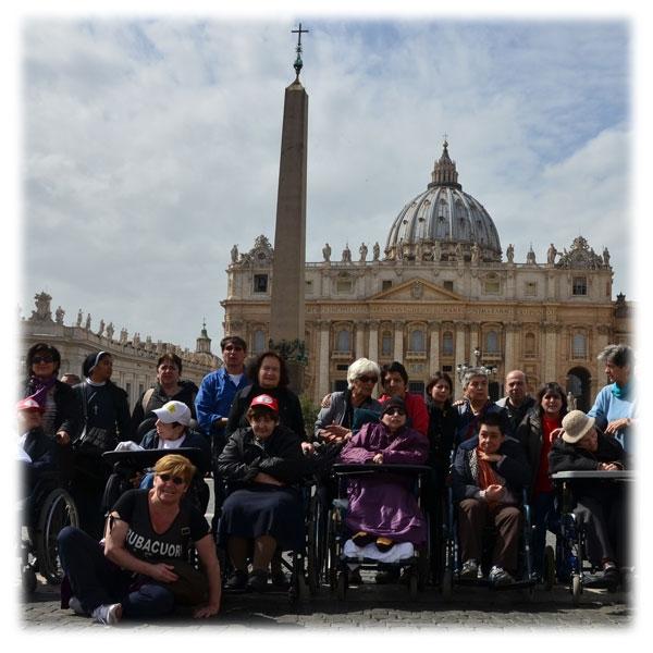 Diario di un pellegrinaggio speciale: dal PCDO di Milano a Roma