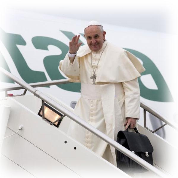 Buon viaggio, Papa Francesco!