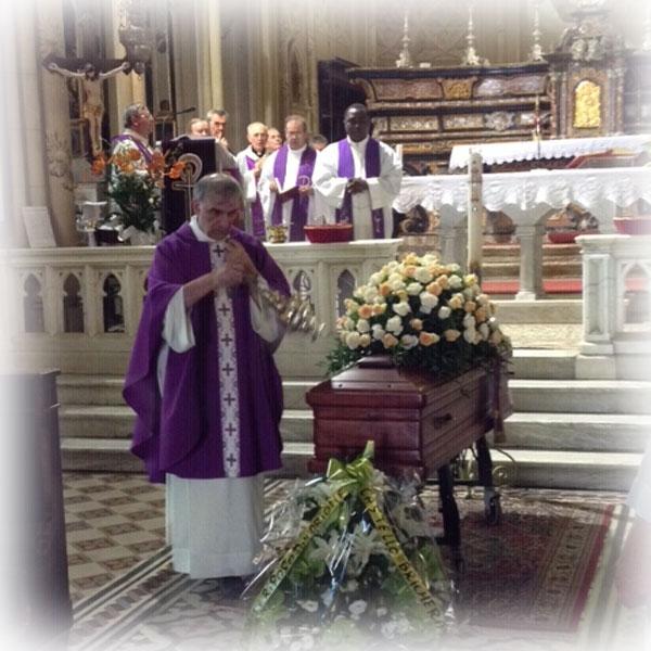 Fubine (AL) – Celebrati i funerali di Don Italo Spano