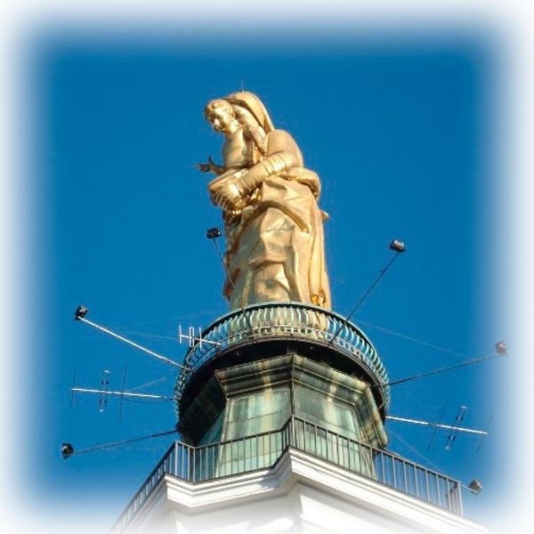 Prega per noi, o Santa Madonna della Guardia!