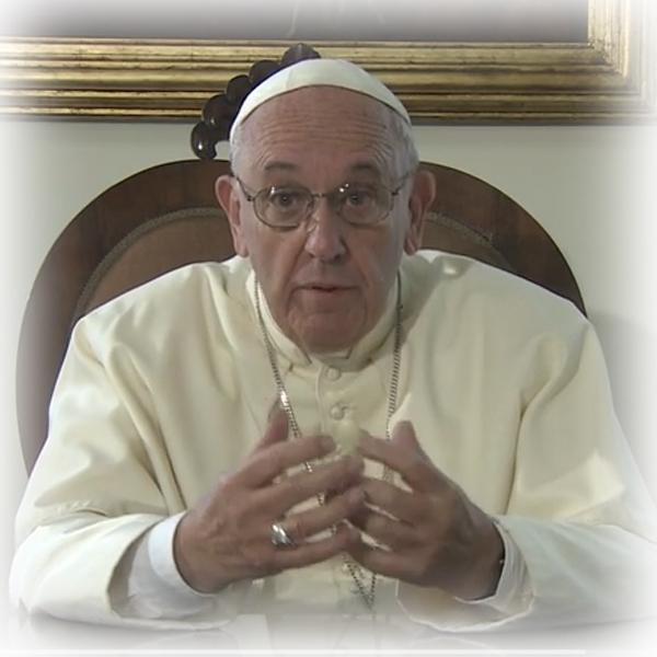 Il videomessaggio del Papa a Cuba