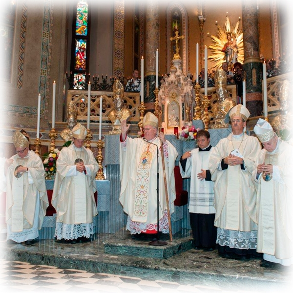 Tortona – Pontificale della Madonna della Guardia 2015
