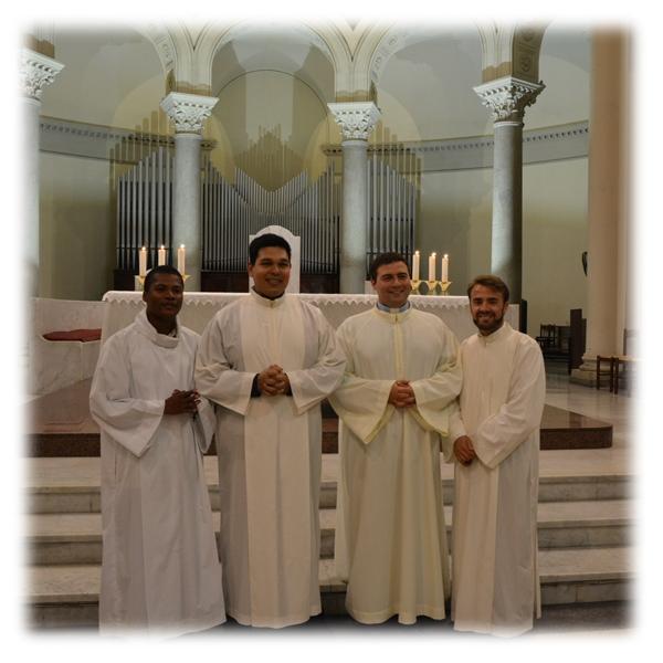 Roma – Rinnovo professione religiosa nella Parrocchia Ognissanti