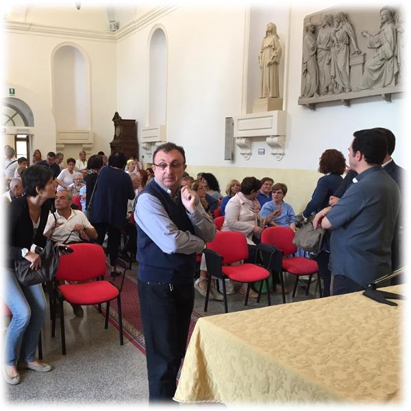 Genova – Il Direttore Provinciale al Piccolo Cottolengo