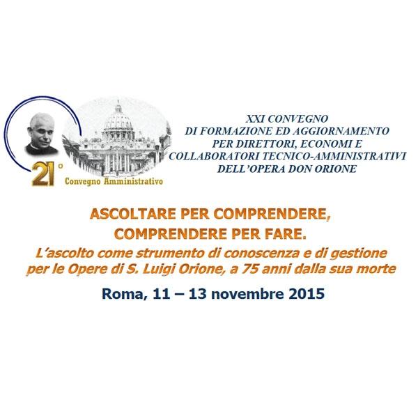 Roma – XXI Convegno Amministrativo