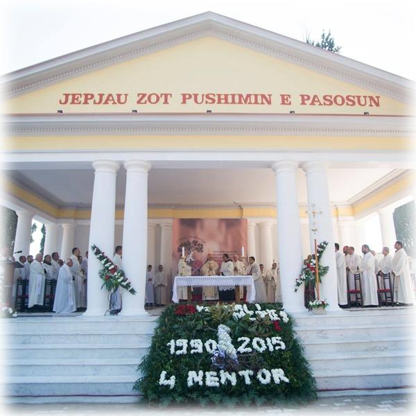 Albania – XXV Anniversario della celebrazione della prima Messa al cimitero di Scutari