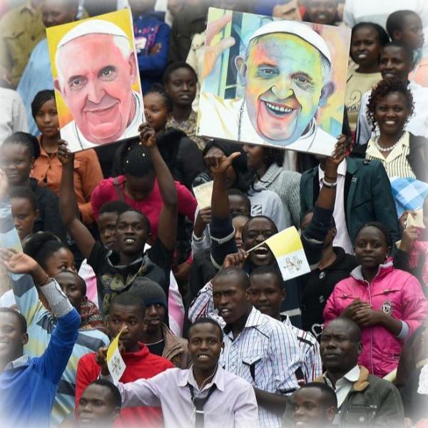 Il Papa ai giovani africani