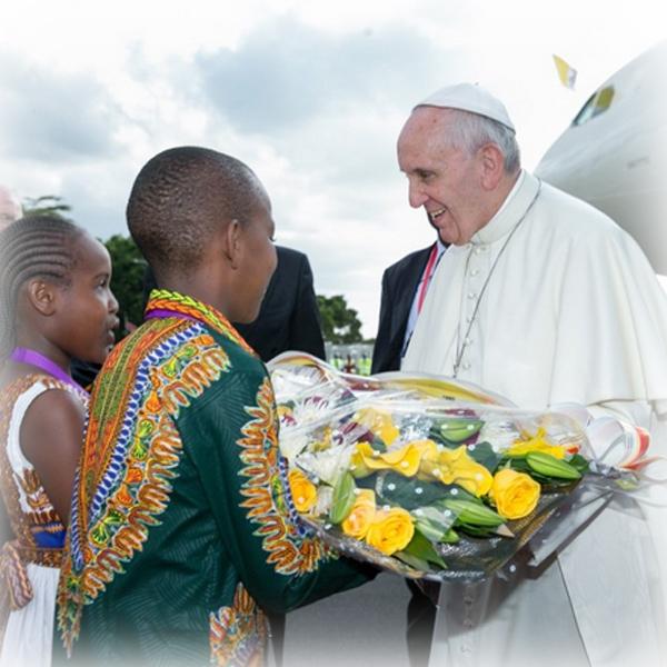 Il Papa a Nairobi