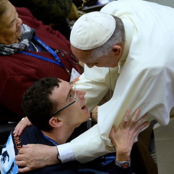 Il discorso del Papa ai disabili