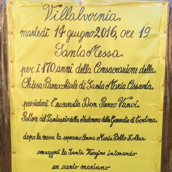 Villalvernia – 170 anni della parrocchia