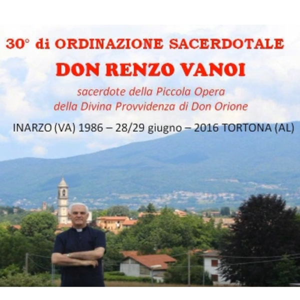 30 anni di Sacerdozio di Don Renzo Vanoi