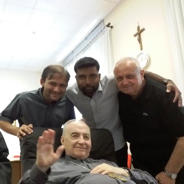 Roma – 85° Compleanno di Monsignor Gemma