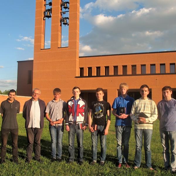 Ucraina – Concluso l'anno scolastico a L'Viv