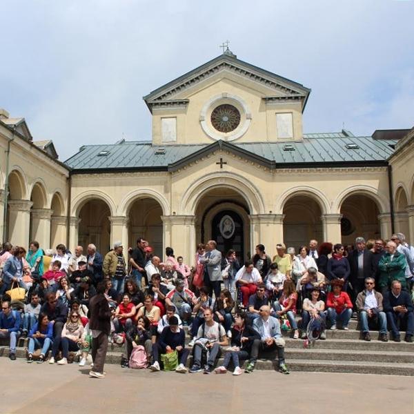 Genova – Pellegrinaggio delle case orionine al Monte Figogna