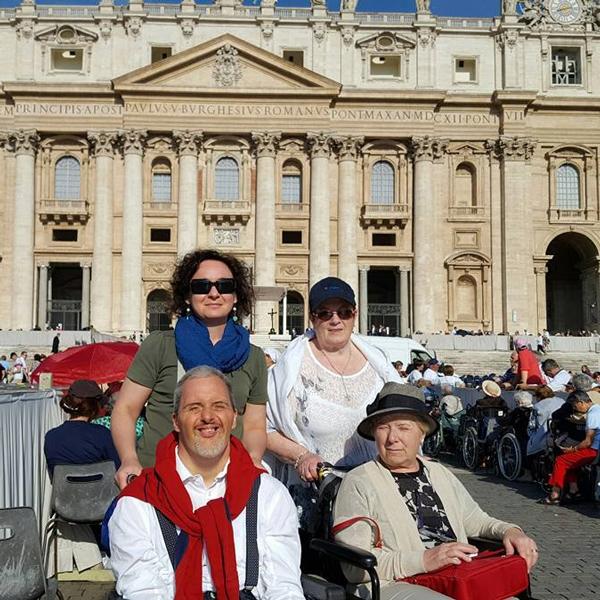 Chirignago – I ragazzi in pellegrinaggio a Roma