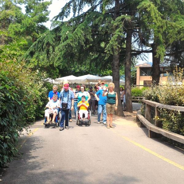 Seregno – I ragazzi in gita al Parco Faunistico Le Cornelle