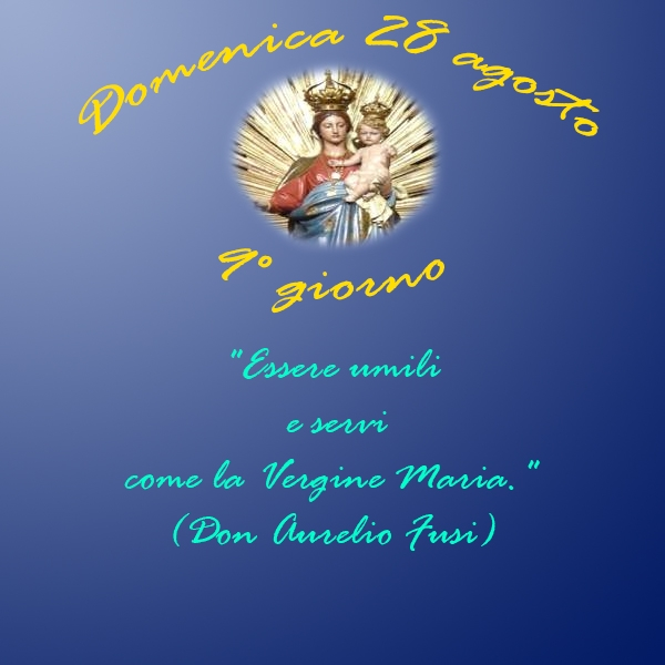 Tortona – 9° Giorno della Novena alla Madonna della Guardia