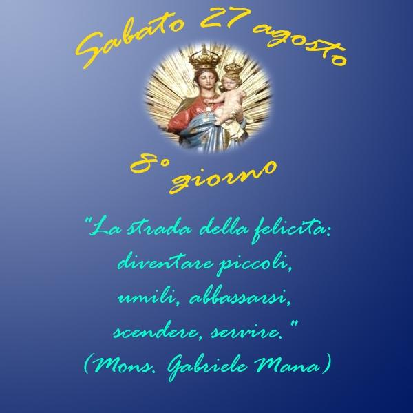Tortona – 8° Giorno della Novena alla Madonna della Guardia e Giubileo dei Malati