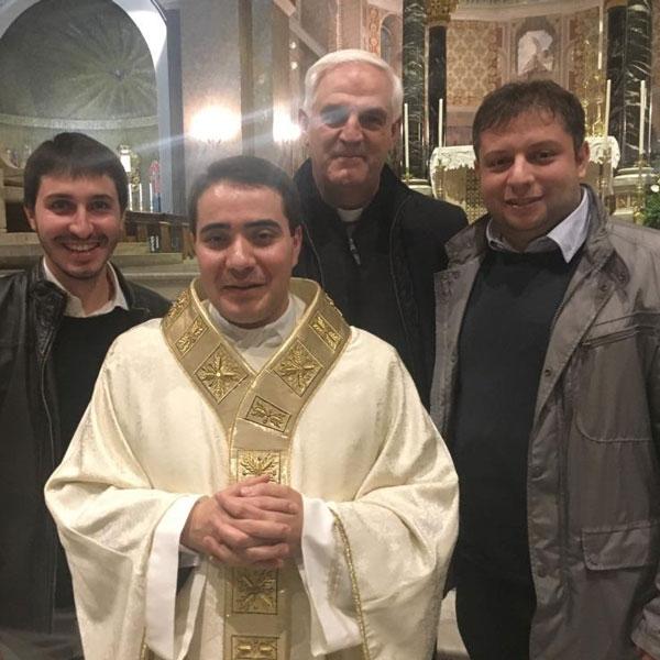 Ascoli Piceno – ordinazione Don Fulvi, sacerdote con lo spirito orionino