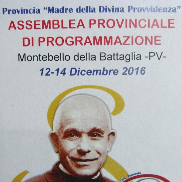 Montebello della Battaglia – Assemblea Provinciale di programmazione