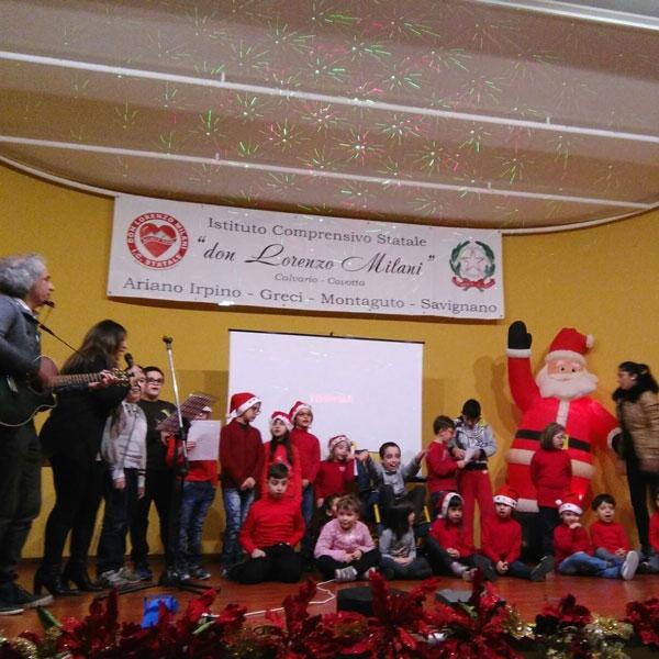 Savignano Irpino – Preparativi Natale