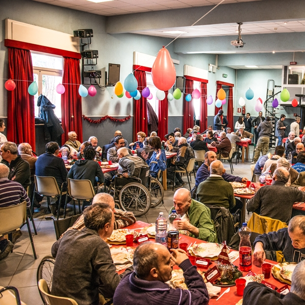 Genova – Fine anno al villaggio della Carità