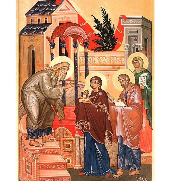 La Presentazione di Gesù al Tempio o Hypapante (Festa dell'Incontro)