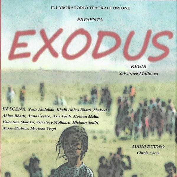 Magreta – Exodus, spettacolo teatrale Comunità Fondazione Orione 80