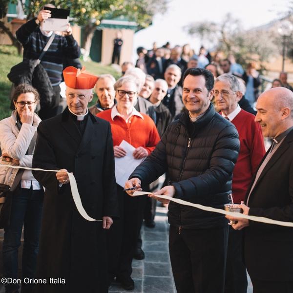 Genova – Inaugurazione Borgo Madre della Tenerezza