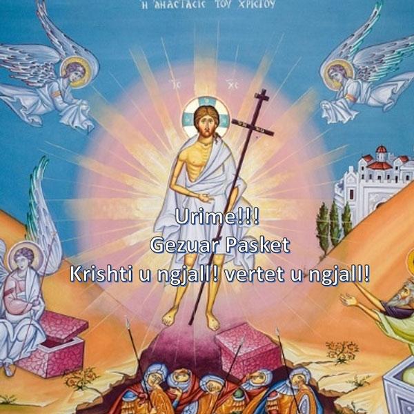 Albania – Auguri di Pasqua