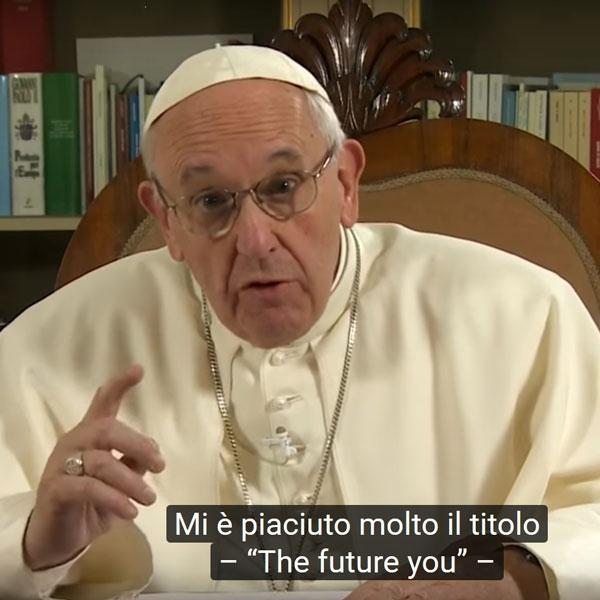 La vita non è tempo che passa, ma tempo di incontro – Papa Francesco a TED