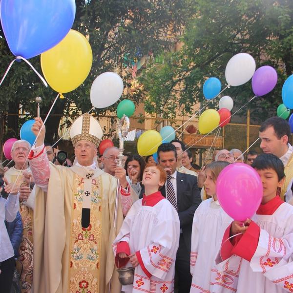 Genova – Festa per i 50 anni di vita parrocchiale