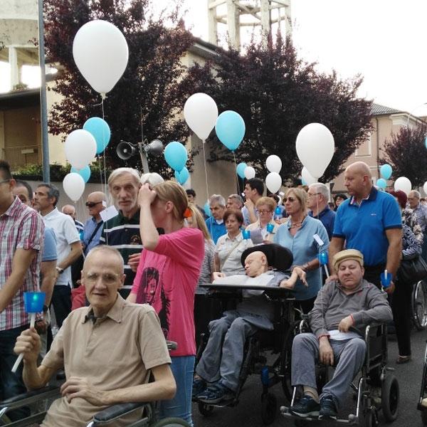 Seregno – Tanti cuori in festa, tanti palloncini in aria!