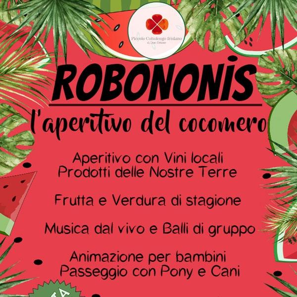 Santa Maria la Longa – Robononis l'aperitivo del cocomero