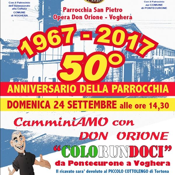 Voghera – Una corsa per i 50 anni della Parrocchia
