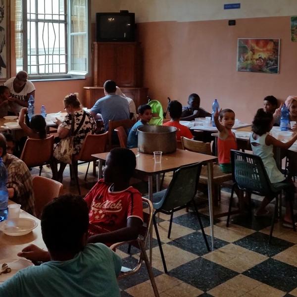 Genova – L'accoglienza a Boschetto