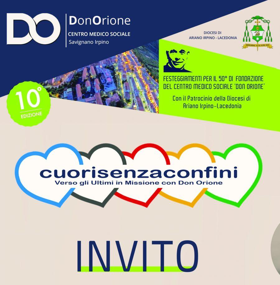 Savignano Irpino – Iniziano i festeggiamenti per i 50 anni del Centro Don Orione