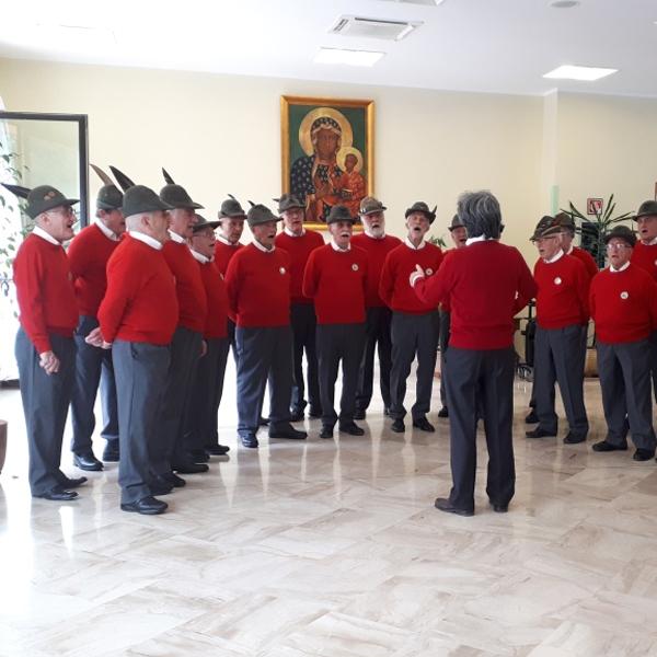 Seregno – Il Coro degli Alpini di Giussano al PCDO