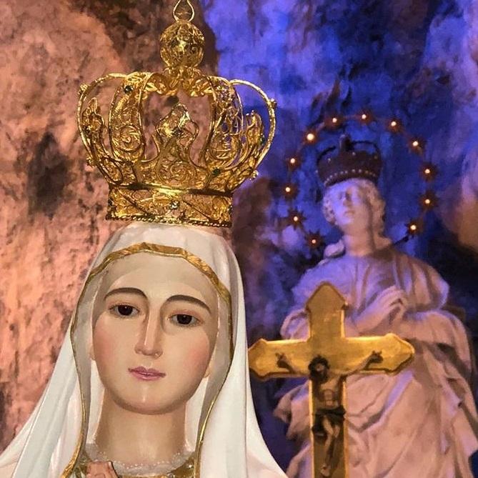 Palermo – La Madonna di Fatima al Santuario di Santa Rosalia