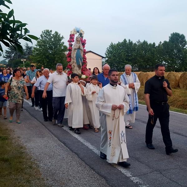 Campocroce – Chiusura del mese mariano al Seminario della Vita