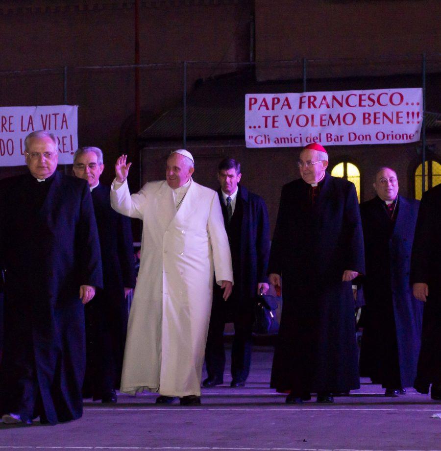 Papa Francesco, siamo con te!
