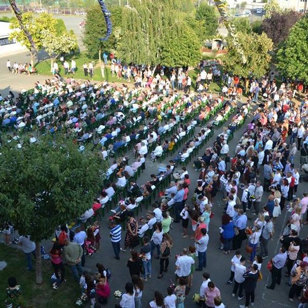 Romania – Inizio della scuola a Oradea