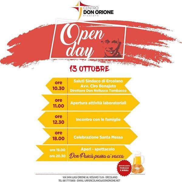 Ercolano – Open day Centro Don Orione