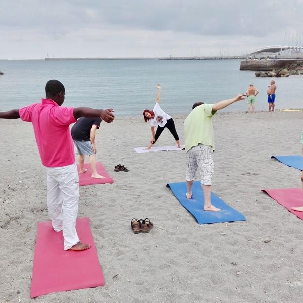 Genova – Spazio allo yoga