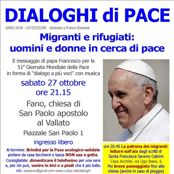 Fano – Dialoghi di Pace