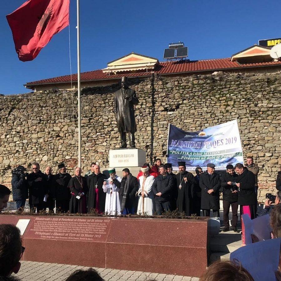 Albania – Ad Elbasan, in marcia per la pace