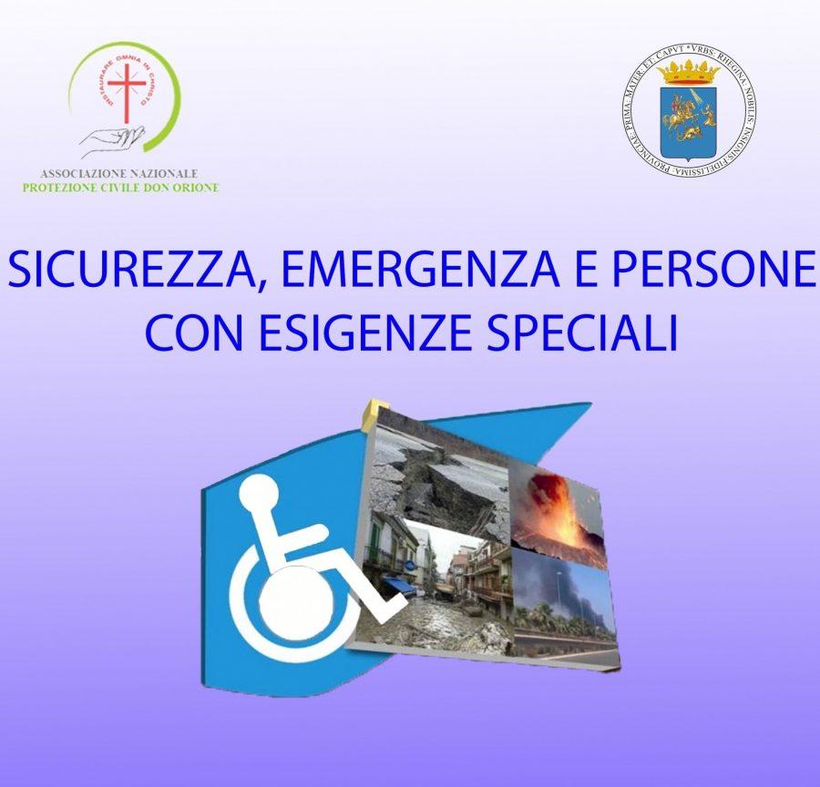 Reggio Calabria – un convegno di protezione civile nell'anniversario del terremoto
