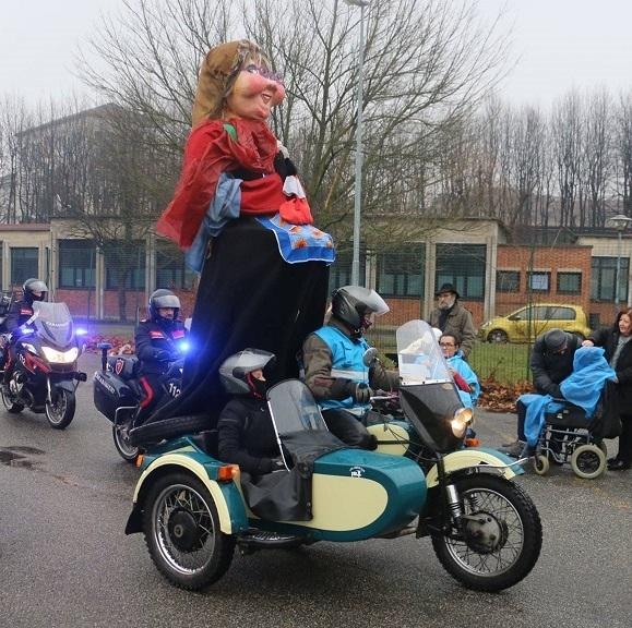 Bergamo – Milano – La Befana arriva in moto