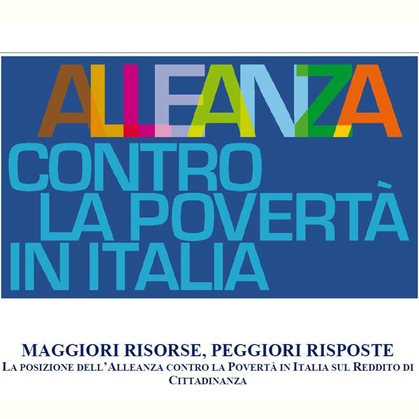 Reddito di Cittadinanza – Alleanza contro la povertà in Italia